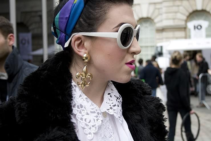 Bold Earrings Lfw Aw12 Trend