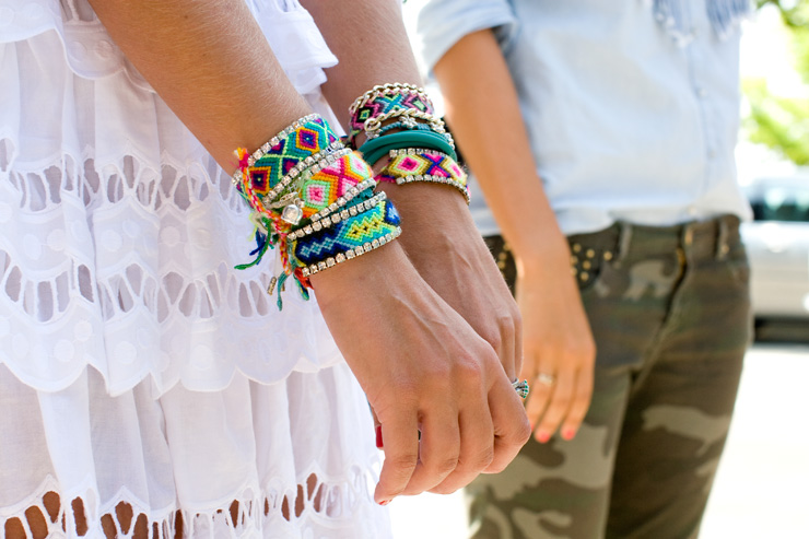 in detail arm parties