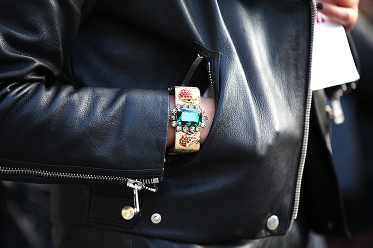 in detail london fashion week aw13 streetstyle