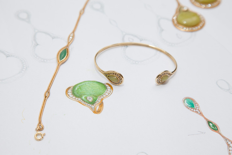 Fernando Jorge gold jewellery In Detail