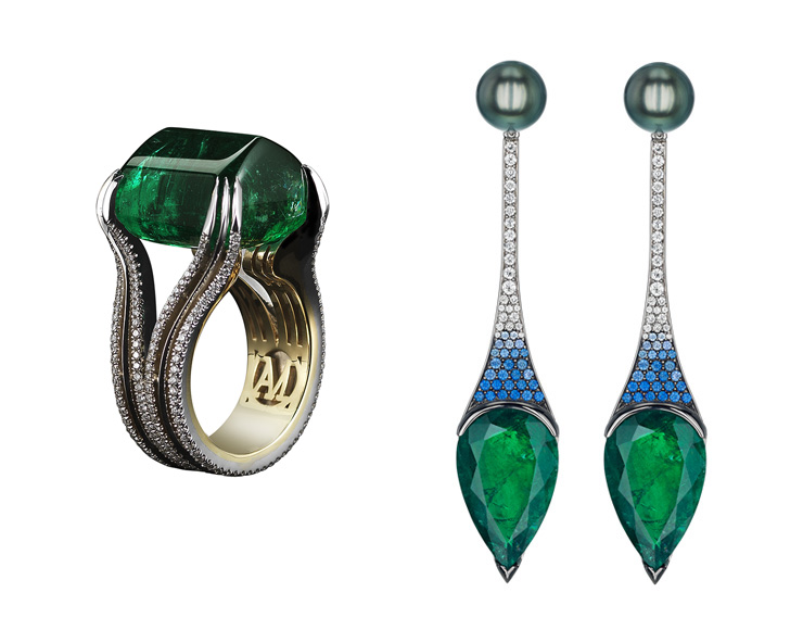 in detail gemfields jewellery leane mor FASHIONABLE, DESIRABLE,