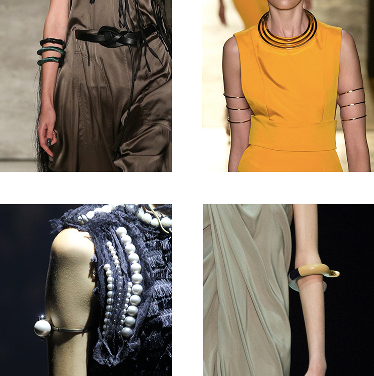 in detail catwalk SS15 the bracelet trend 04 THE REIGN OF THE BRACELET