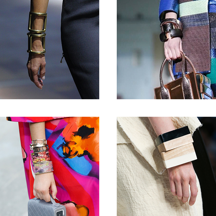 in detail catwalk trendS SS15 the bracelet 05 THE REIGN OF THE BRACELET