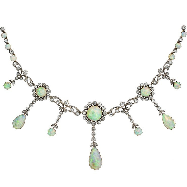 Why opals are enjoying a style renaissance in detail for Bentley and skinner jewelry