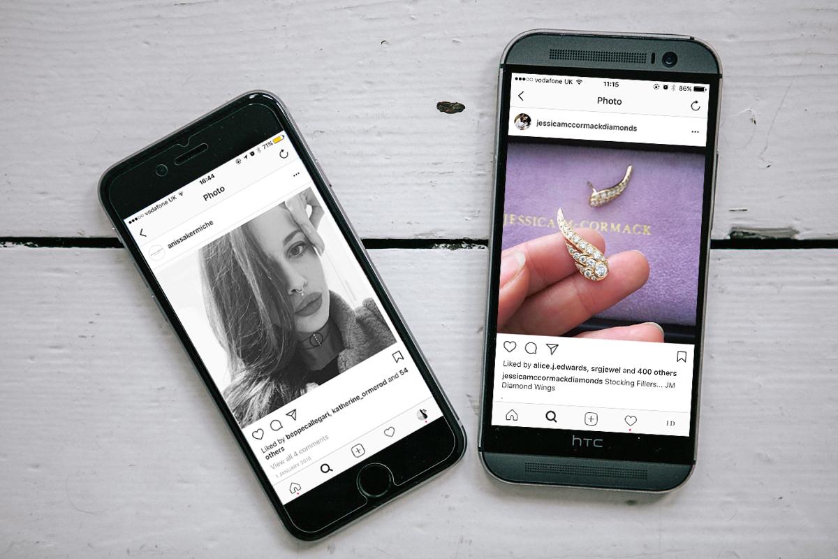 Instagram Detail: How Instagram Transformed The Jewellery World